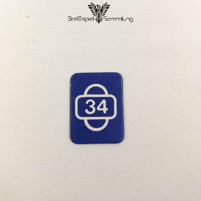 Scotland Yard Startkarte 34