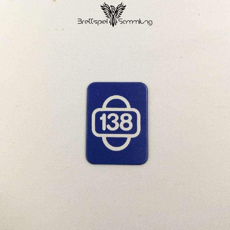 Scotland Yard Startkarte 138