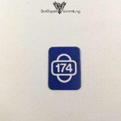 Scotland Yard Startkarte 174