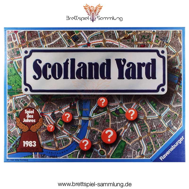 Brettspiel Sammlung Scotland Yard Spiel