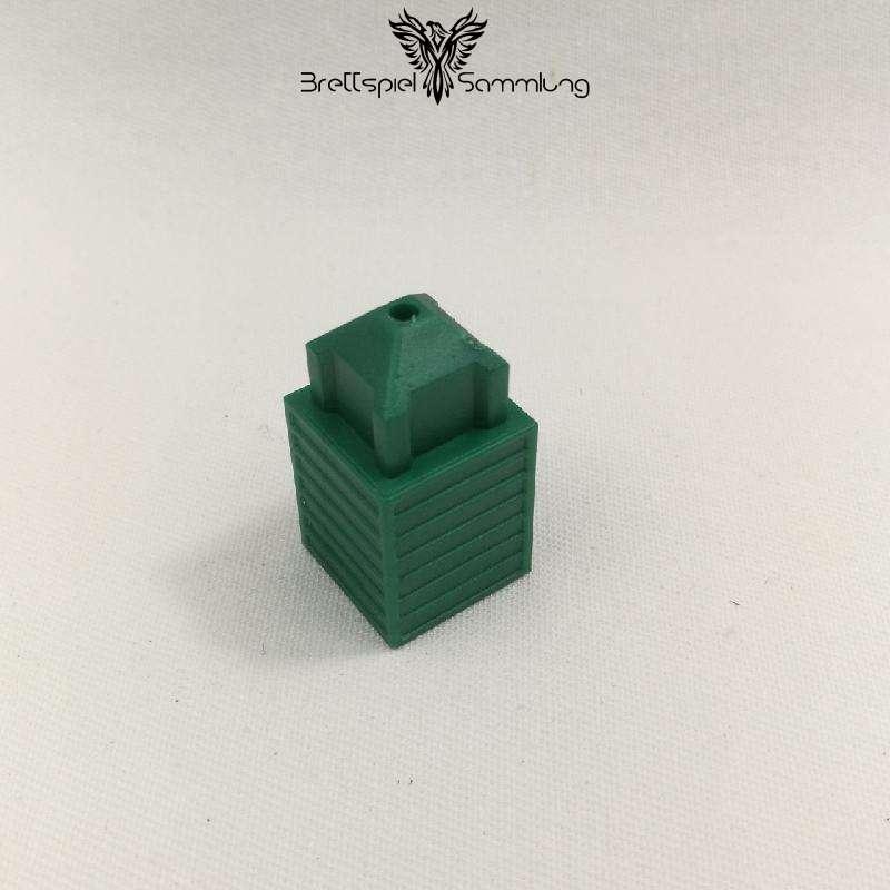 Skyliners Spielstein Stockwerk Grün
