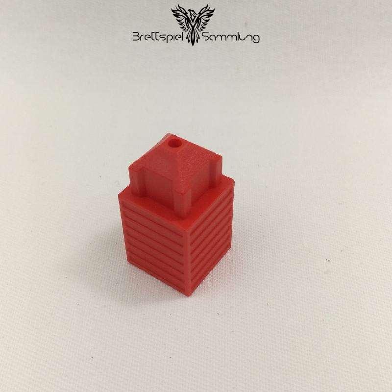 Skyliners Spielstein Stockwerk Rot