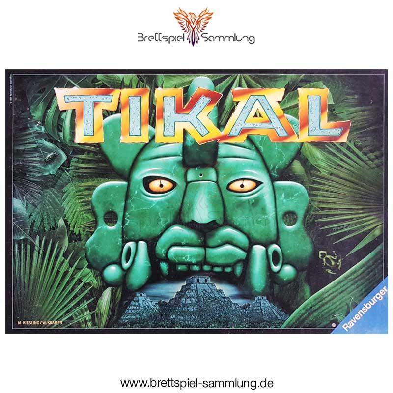 Brettspiel Sammlung Tikal Spiel