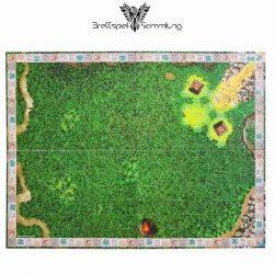 Brettspiel Sammlung Tikal Spielplan