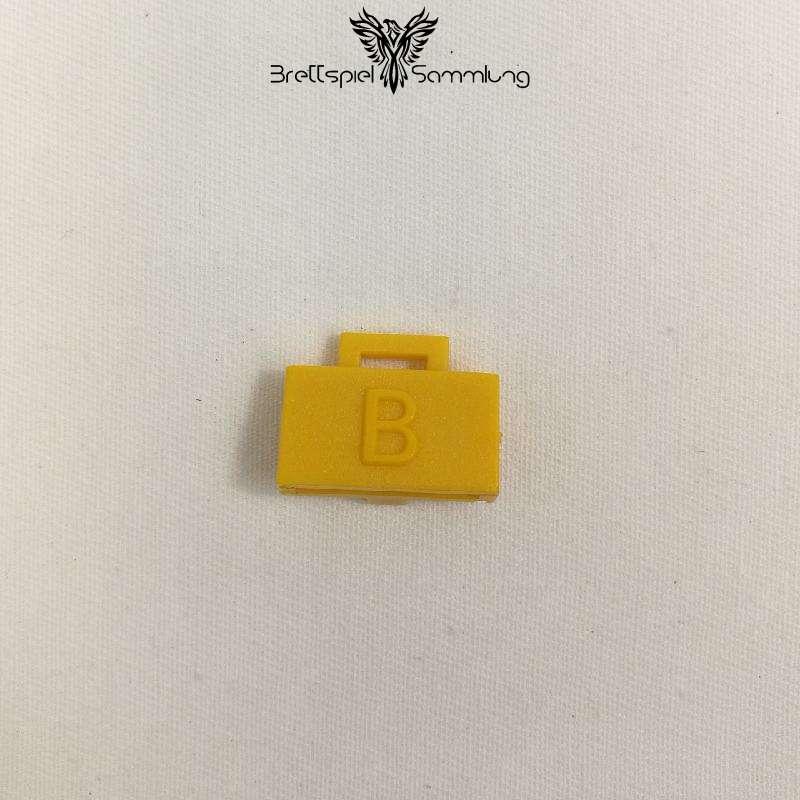 Top Secret Diplomatenkoffer Gelb B