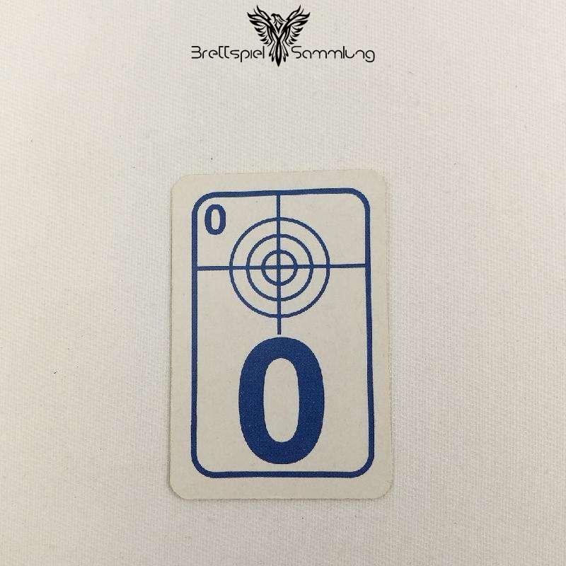 Top Secret Duell Karte Blau 0