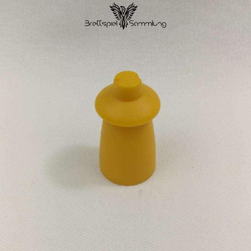 Top Secret Spielfigur Geheimagent Gelb