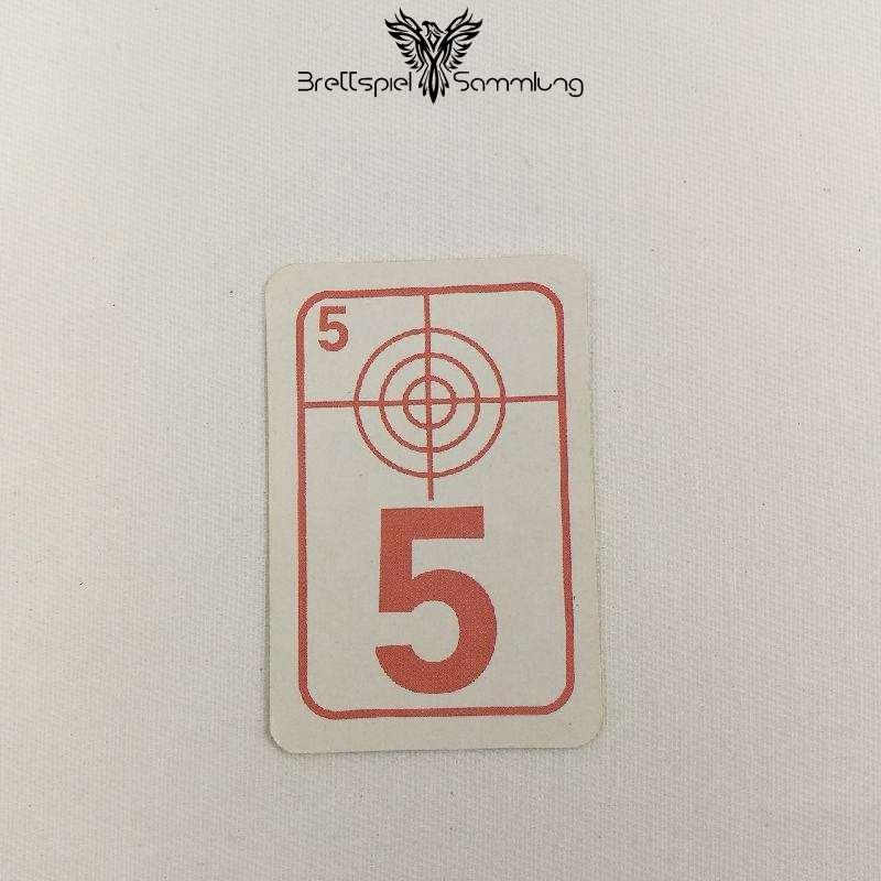 Top Secret Duell Karte Rot 5