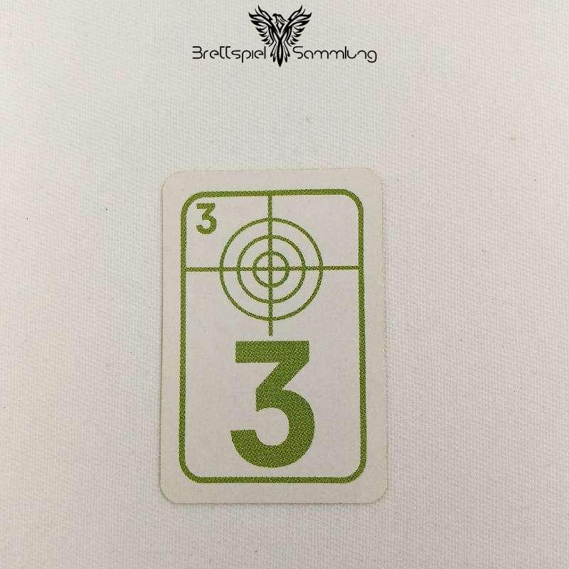 Top Secret Duell Karte Grün 3
