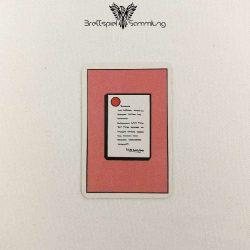 Top Secret Koffer Karte Rot 1 Staatsgeheimnis