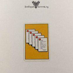 Top Secret Koffer Karte Gelb 5 Staatsgeheimnisse