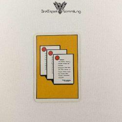 Top Secret Koffer Karte Gelb 3 Staatsgeheimnisse