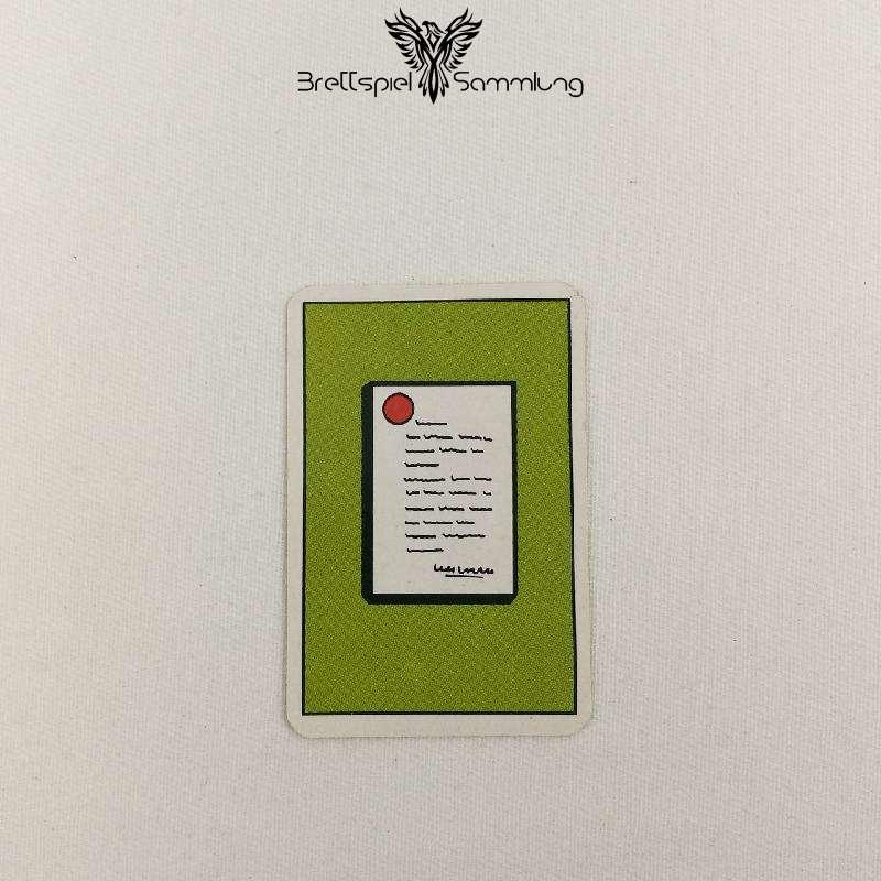 Top Secret Koffer Karte Grün 1 Staatsgeheimnis