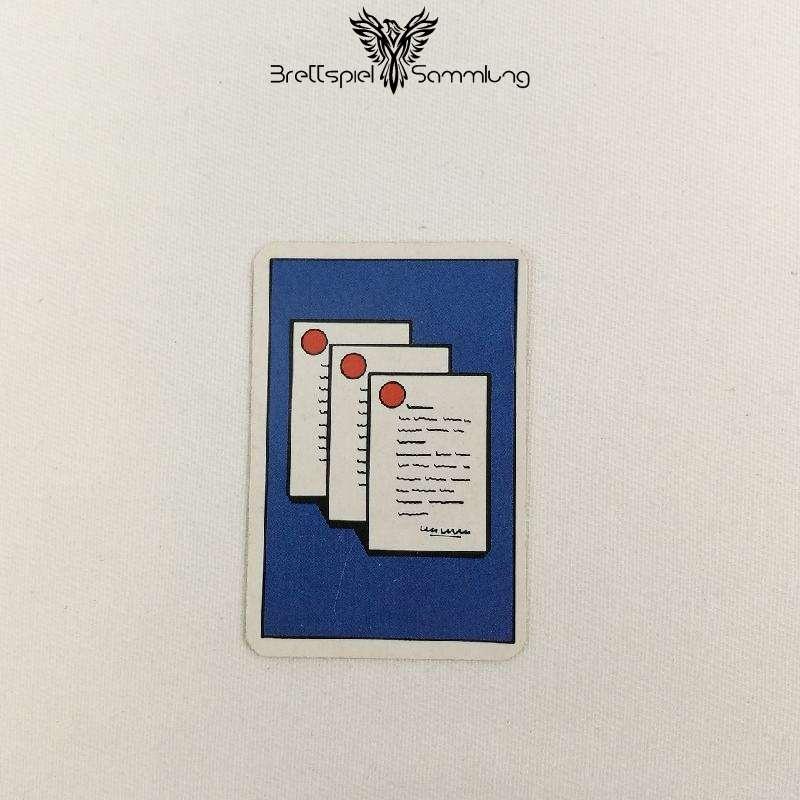 Top Secret Koffer Karte Blau 3 Staatsgeheimnisse