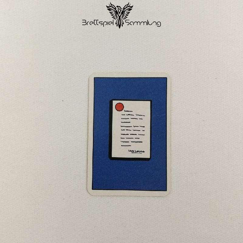 Top Secret Koffer Karte Blau 1 Staatsgeheimnis