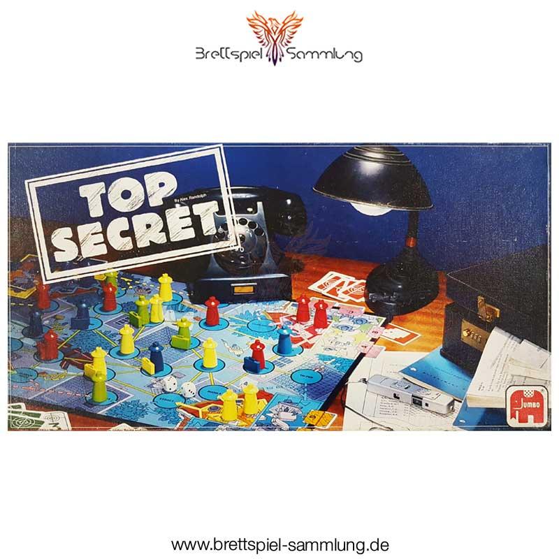 Brettspiel Sammlung Top Secret Spiel