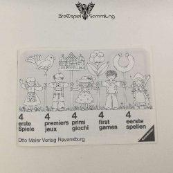 Vier Erste Spiele Spielanleitung