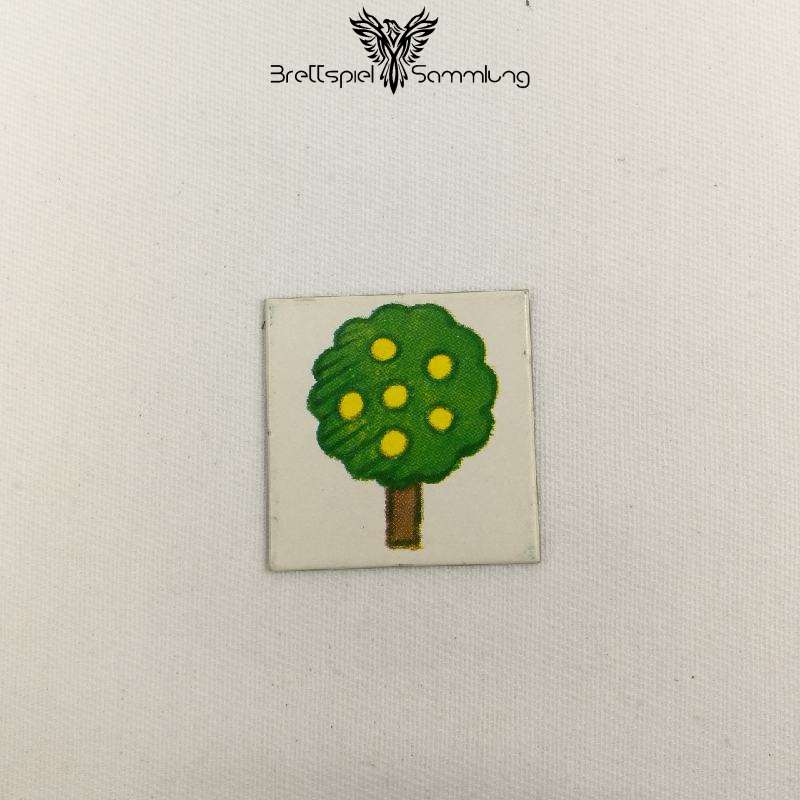 Vier Erste Spiele Bildkärtchen Baum