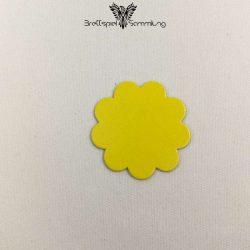 Vier Erste Spiele Plättchen Blüte Gelb