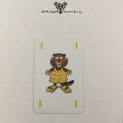Mein Lieber Biber Laufkarte 1 Biber Gelb