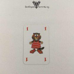 Mein Lieber Biber Laufkarte 1 Biber Rot