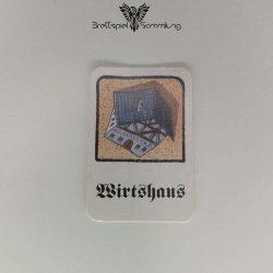 Drunter & Drüber Gebäudekarte Wirtshaus Schwarz
