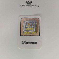 Drunter & Drüber Gebäudekarte Museum Schwarz