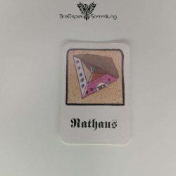 Drunter & Drüber Gebäudekarte Rathaus Schwarz