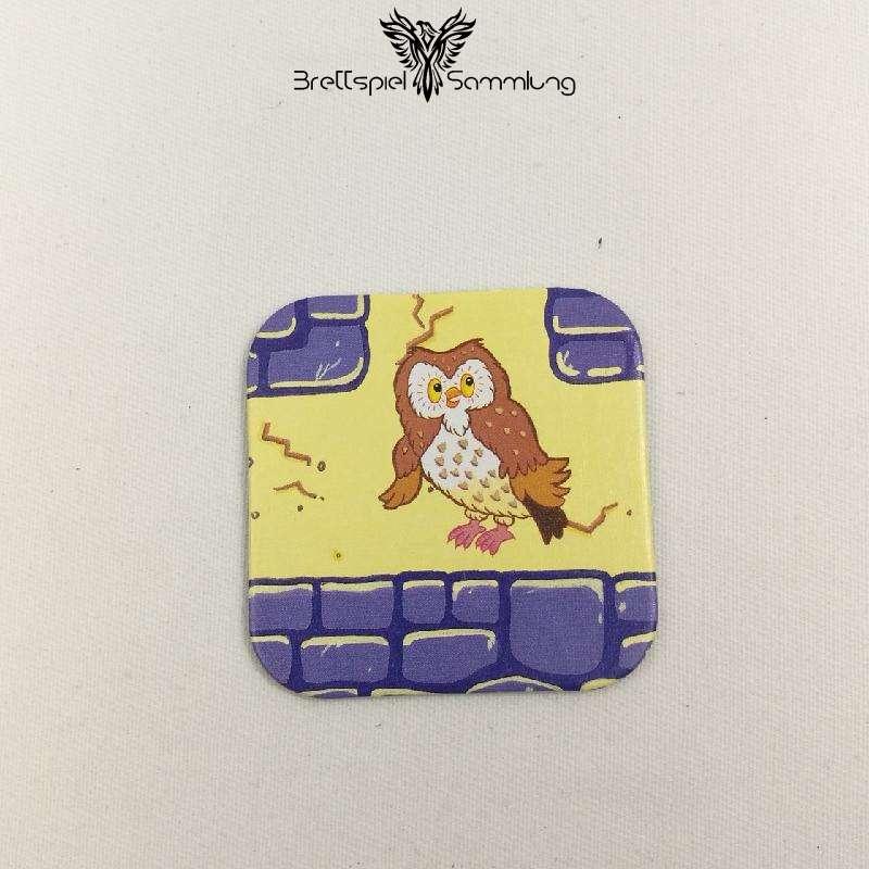 Junior Labyrinth Gänge Karte Motiv Eule