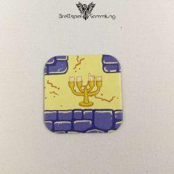 Junior Labyrinth Gänge Karte Motiv Kerzenhalter