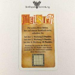 Torres Meister Karte Orange Motiv #3