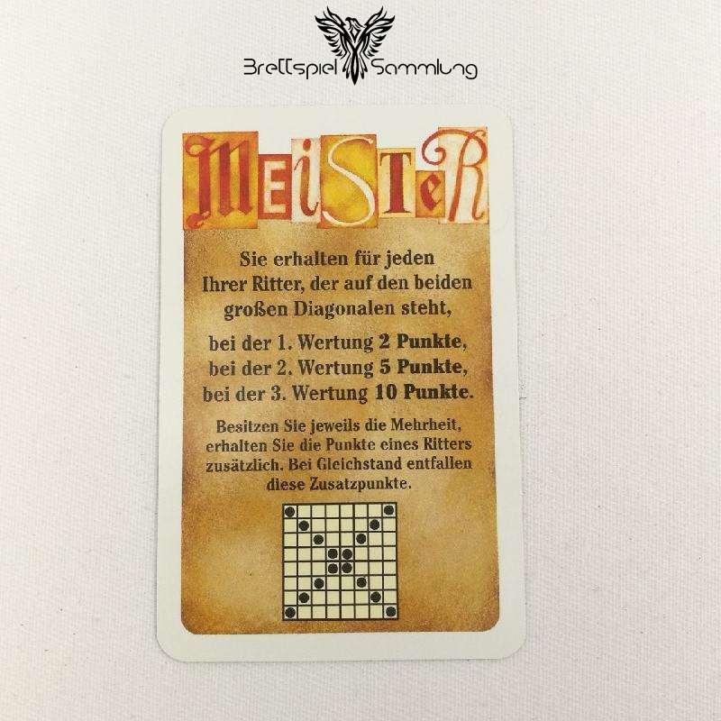 Torres Meister Karte Orange Motiv #5