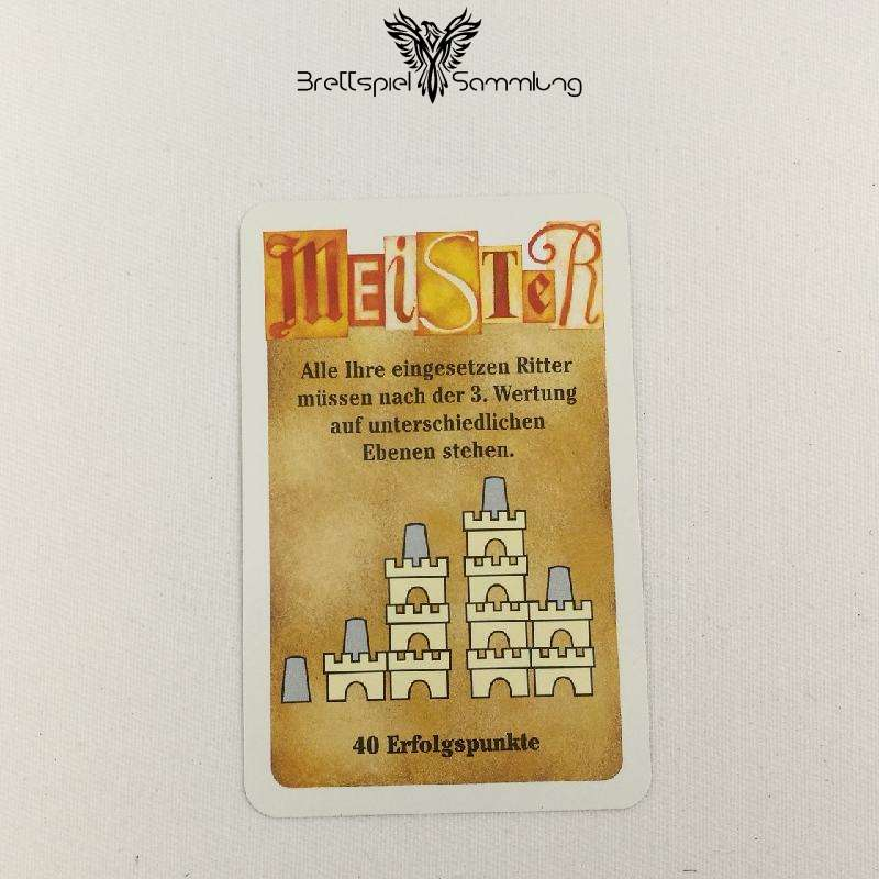 Torres Meister Karte Orange Motiv #8