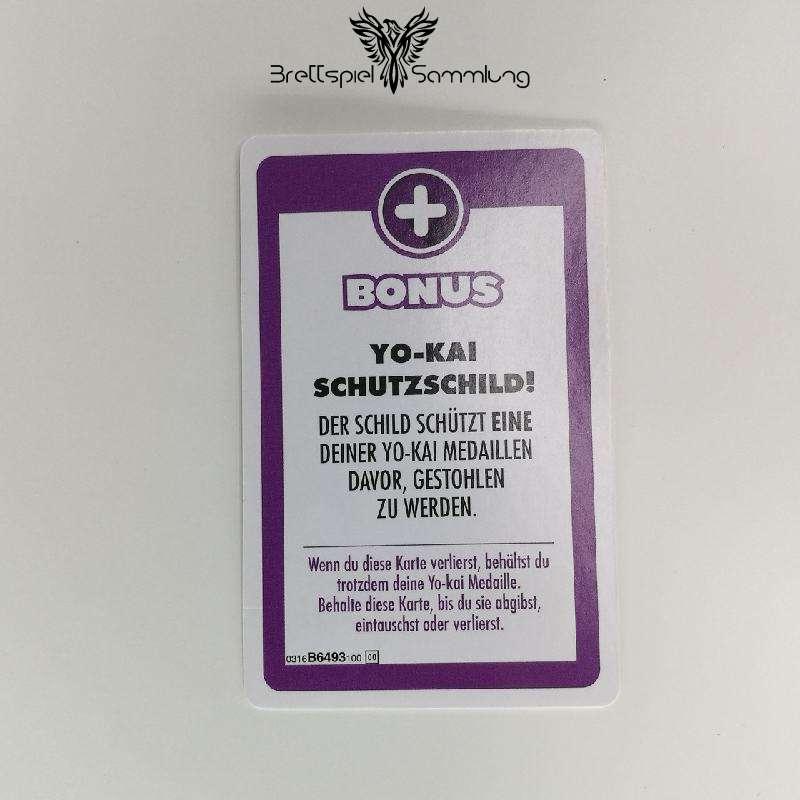 Das Spiel Des Lebens Yo-kai Watch Bonuskarte Schutzschild