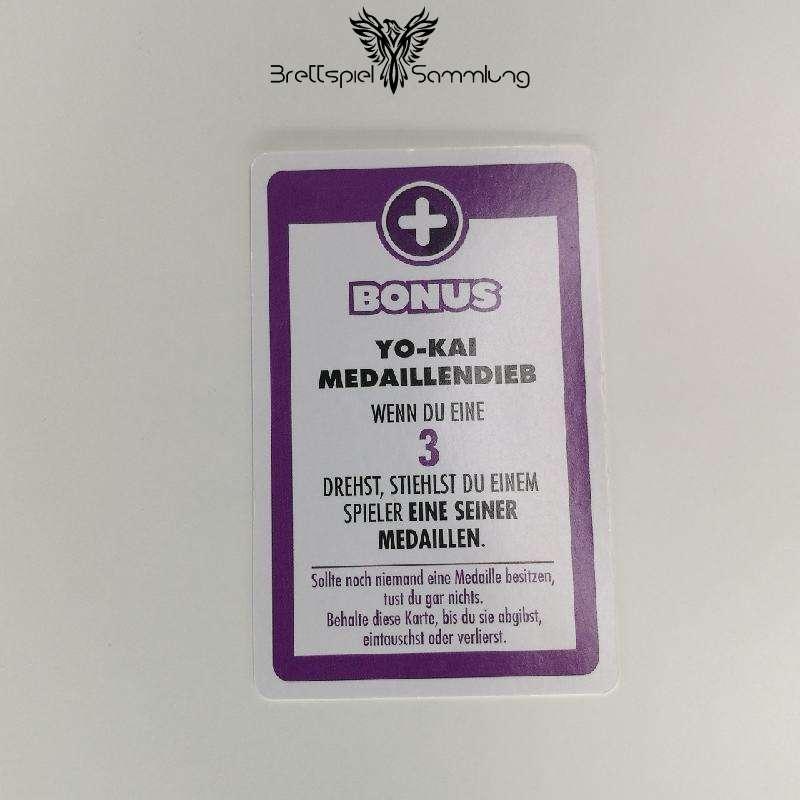 Das Spiel Des Lebens Yo-kai Watch Bonuskarte Medaillendieb