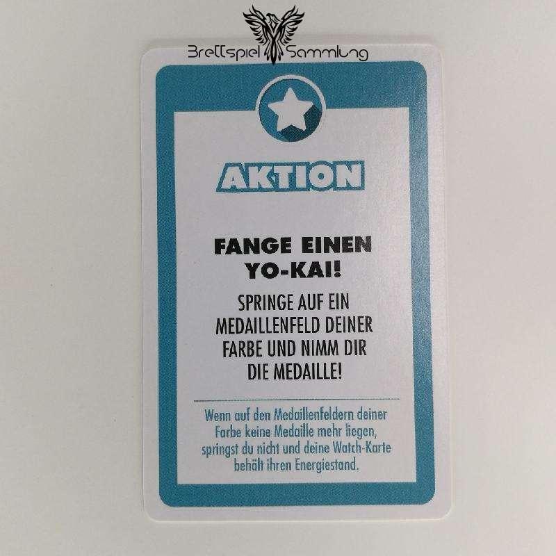 Das Spiel des Lebens YO-KAI Watch Aktionskarte Fange einen YO-KAI