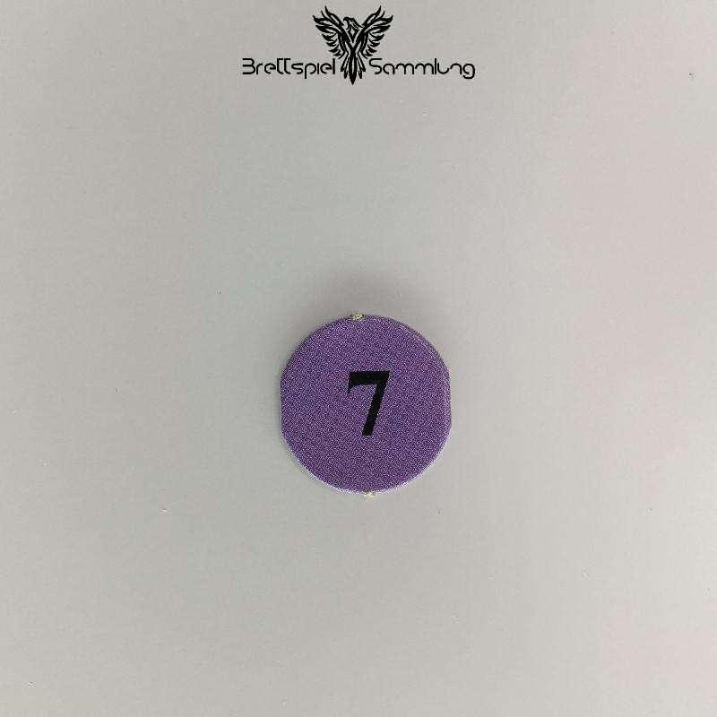 Dsa Burg Des Schreckens Lebenspunkteplättchen Violett 7
