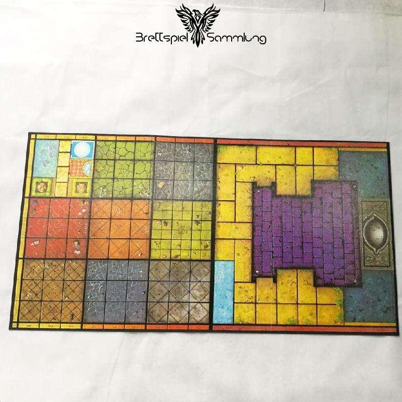 Dsa Burg Des Schreckens Spielbrett