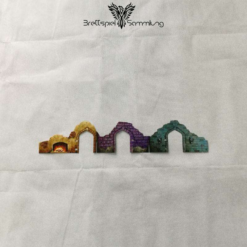DSA Burg des Schreckens Tempelwand Motiv #4