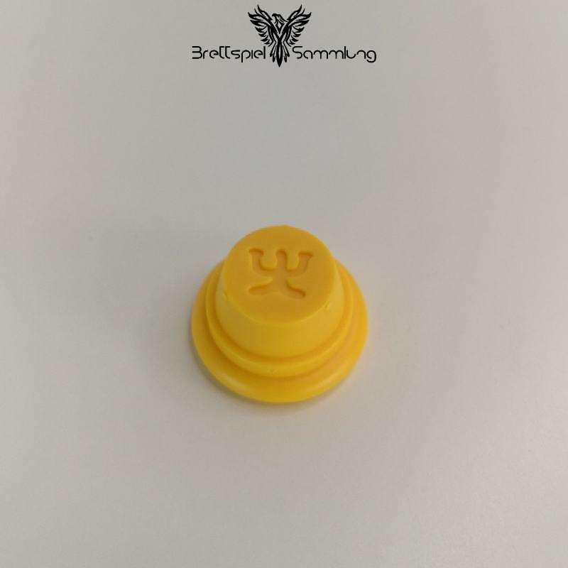 Gran Spielfigur Gelb Amulett