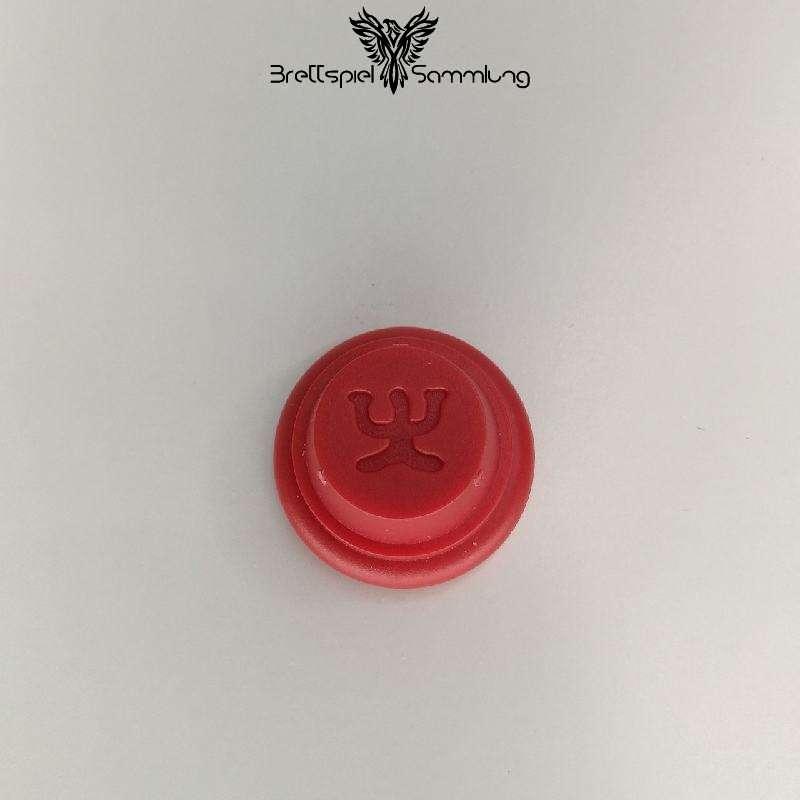 Gran Spielfigur Rot Amulett