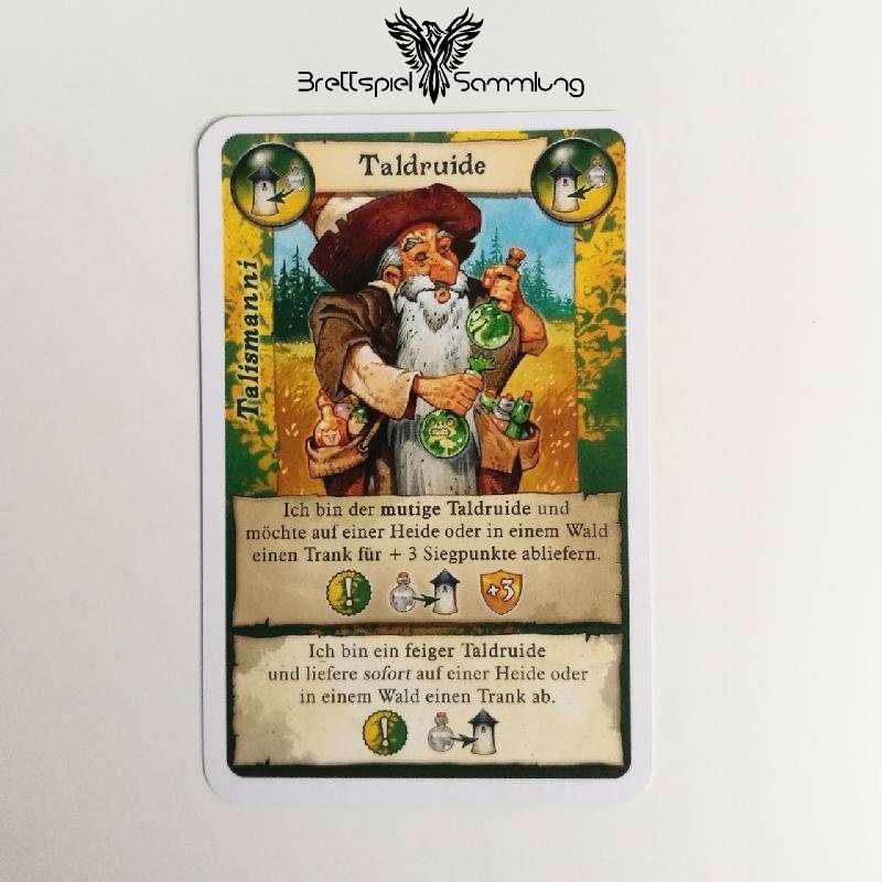 Broom Service Rollenkarte Taldruide Schwarz