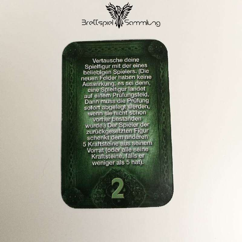 Das Haus Anubis Pfad Der 7 Sünden Sündenkarte Begehren Motiv #1