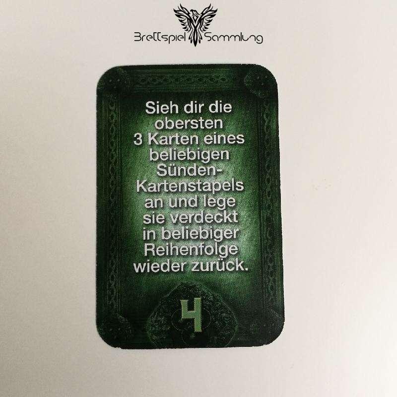Das Haus Anubis Pfad Der 7 Sünden Sündenkarte Begehren Motiv #4