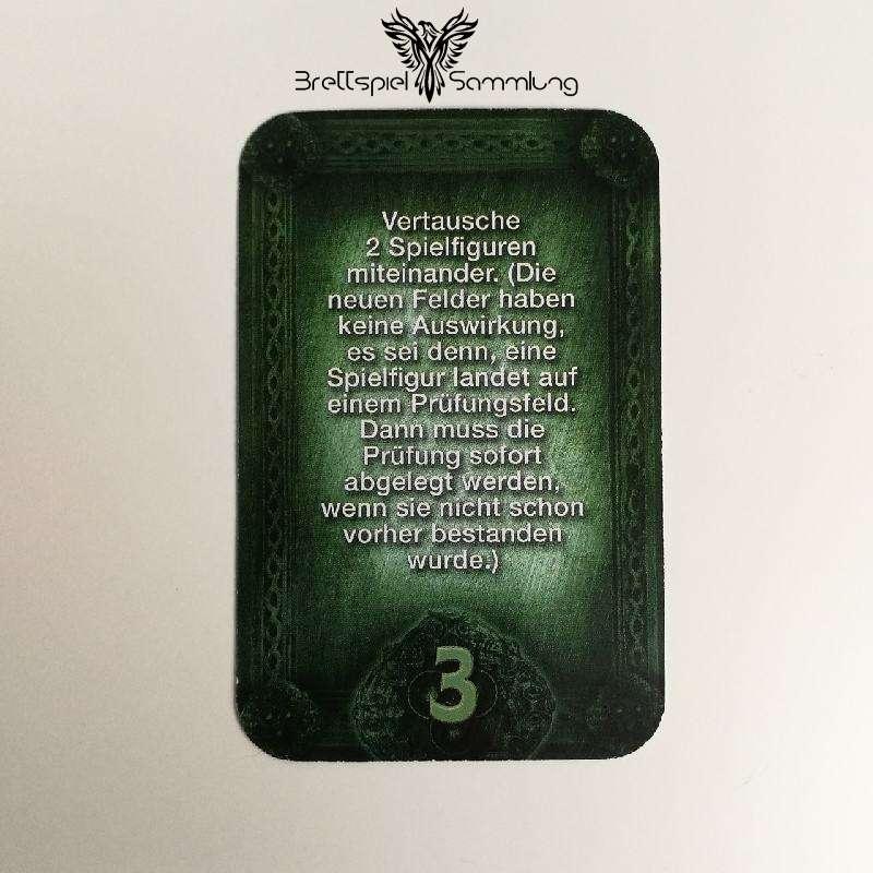 Das Haus Anubis Pfad Der 7 Sünden Sündenkarte Begehren Motiv #5