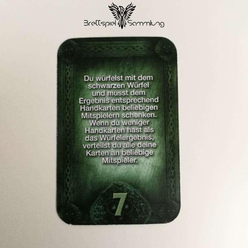 Das Haus Anubis Pfad Der 7 Sünden Sündenkarte Begehren Motiv #6