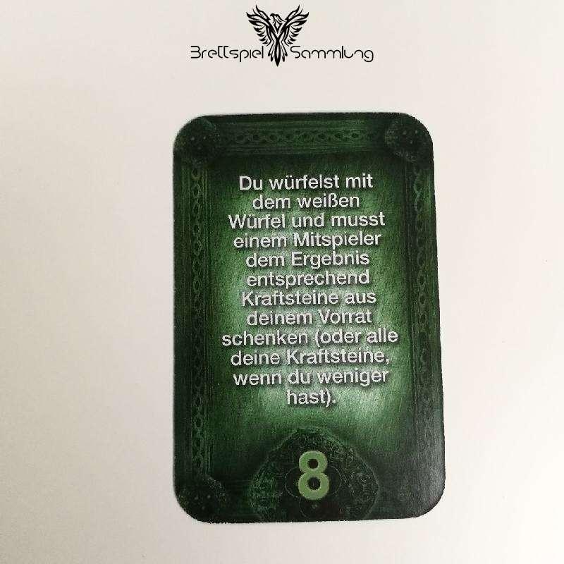 Das Haus Anubis Pfad Der 7 Sünden Sündenkarte Begehren Motiv #8