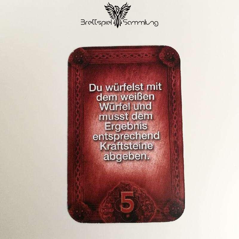 Das Haus Anubis Pfad Der 7 Sünden Sündenkarte Völlerei Motiv #2