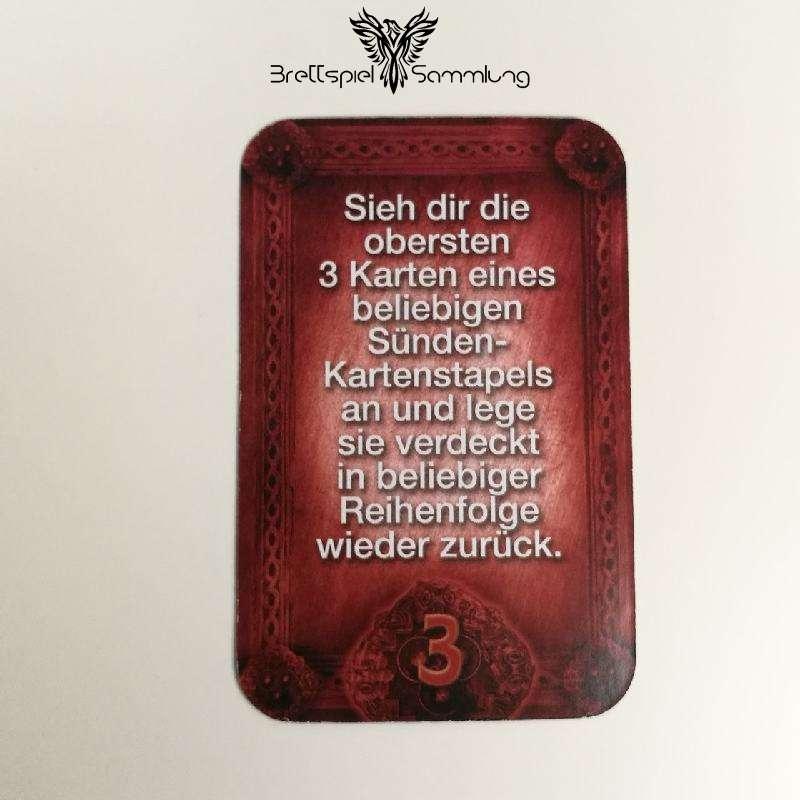 Das Haus Anubis Pfad Der 7 Sünden Sündenkarte Völlerei Motiv #7