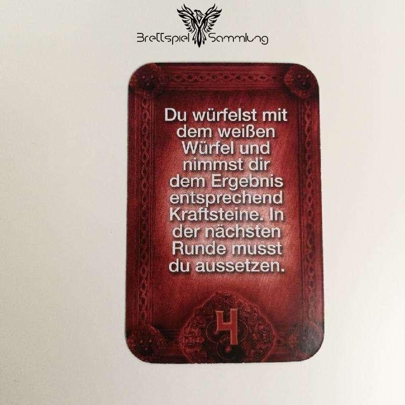 Das Haus Anubis Pfad Der 7 Sünden Sündenkarte Völlerei Motiv #9